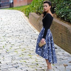 Anthropologie Vespertine Skirt